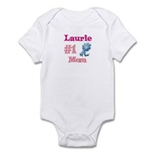 Laurie - #1 Mom Infant Bodysuit