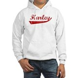 Harley (red vintage) Jumper Hoody