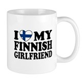 I Love My Finnish Girlfriend Small Mug