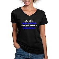 Regular vs Mad Scientist Shirt