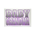 Baby Grandma Rectangle Magnet