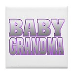 Baby Grandma Tile Coaster