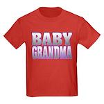 Baby Grandma Kids Dark T-Shirt