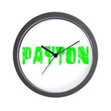 Payton Faded (Green) Wall Clock