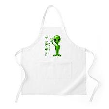 Alien Peace Dudes 9 BBQ Apron