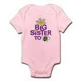 Cute Big Sister to BEE Infant Bodysuit