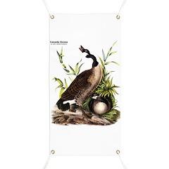 Audubon Canada Goose Bird Banner