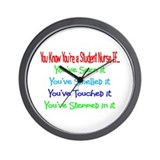STUDENT NURSE III Wall Clock
