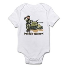 Daddy is my hero! Infant Bodysuit