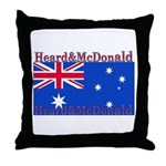 Heard & McDonald Flag Throw Pillow