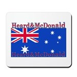 Heard & McDonald Flag Mousepad