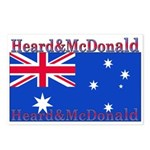 Heard & McDonald Flag Postcards (Package of 8)