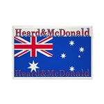 Heard & McDonald Flag Rectangle Magnet (100 pack)