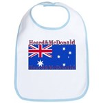 Heard & McDonald Flag Bib
