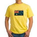 Heard & McDonald Flag Yellow T-Shirt