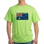 Heard & McDonald Flag Green T-Shirt