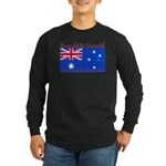 Heard & McDonald Flag Long Sleeve Dark T-Shirt