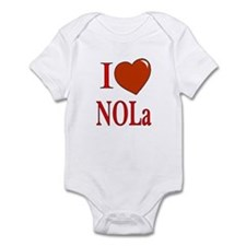 I Love Nola Infant Bodysuit