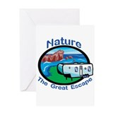 Nature.....The Great Escape Greeting Card