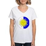 Atenveldt Populace Women's V-Neck T-Shirt