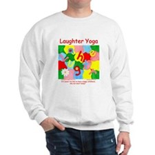 Laughter Yoga HAPPY CHILDHOOD Unisex Sweatshirt