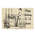 A Freemasons Birthday Postcards (Package of 8)