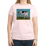 A Greyhound Women's Pink T-Shirt