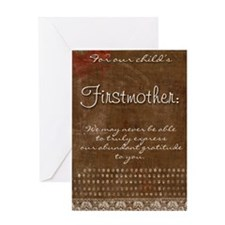 Firstmother Greeting Card