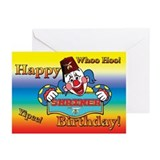 Shriners Birthday Clown Greeting Cards (Pk of 10)