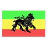 Rasta sticker