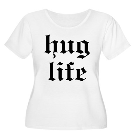 Hug Life Women's Plus Size Scoop Neck T-Shirt