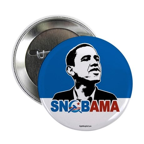 "Snob-ama 2.25"" Button (10 pack)"
