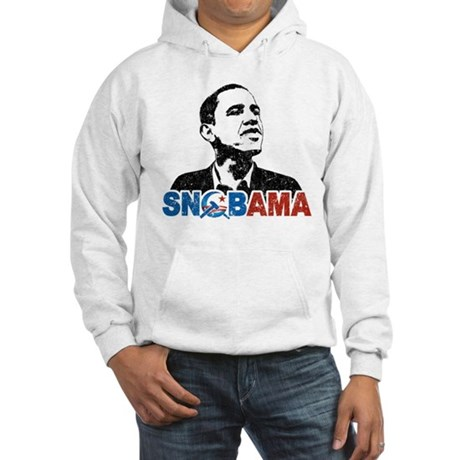 Snob-ama Hooded Sweatshirt
