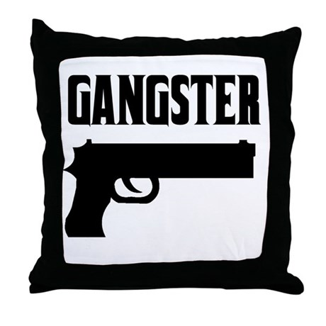 Gangster Throw Pillow