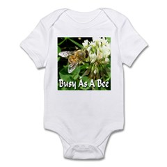 Busy As A Bee Infant Bodysuit