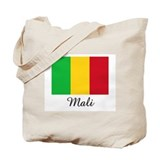 Mali Flag Tote Bag