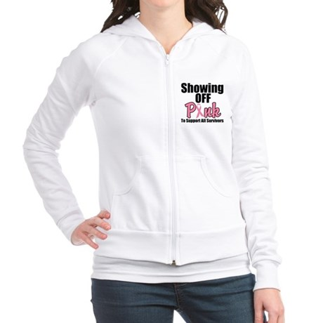 Showing Off Pink Survivors Jr. Hoodie