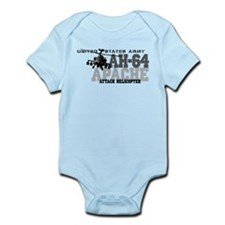 Army Apache Helicopter Infant Bodysuit