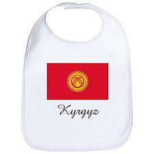 Kyrgyz Flag Bib