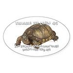 Valuable Pet Lesson #6 Oval Sticker