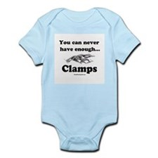 Clamps Design #3 Infant Creeper