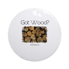 Got Wood? Keepsake (Round)
