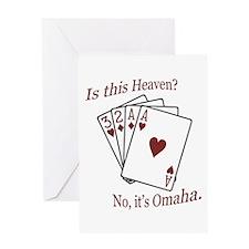 Cute Gambling Greeting Card