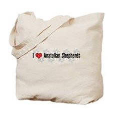 I heart Anatolian Shepherds Tote Bag