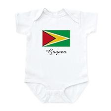 Guyana Flag Infant Bodysuit