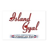 Island Gyal - Postcards (Package of 8)
