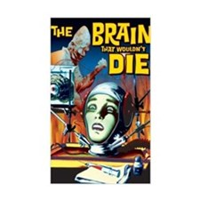 Brain That Wouldn't Die Rectangle Decal