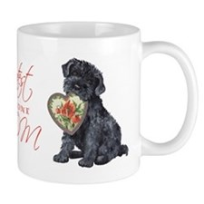 Kerry Blue Mom Small Mug
