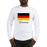 Germany Flag Long Sleeve T-Shirt