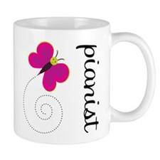 Colorful Pianist Mug